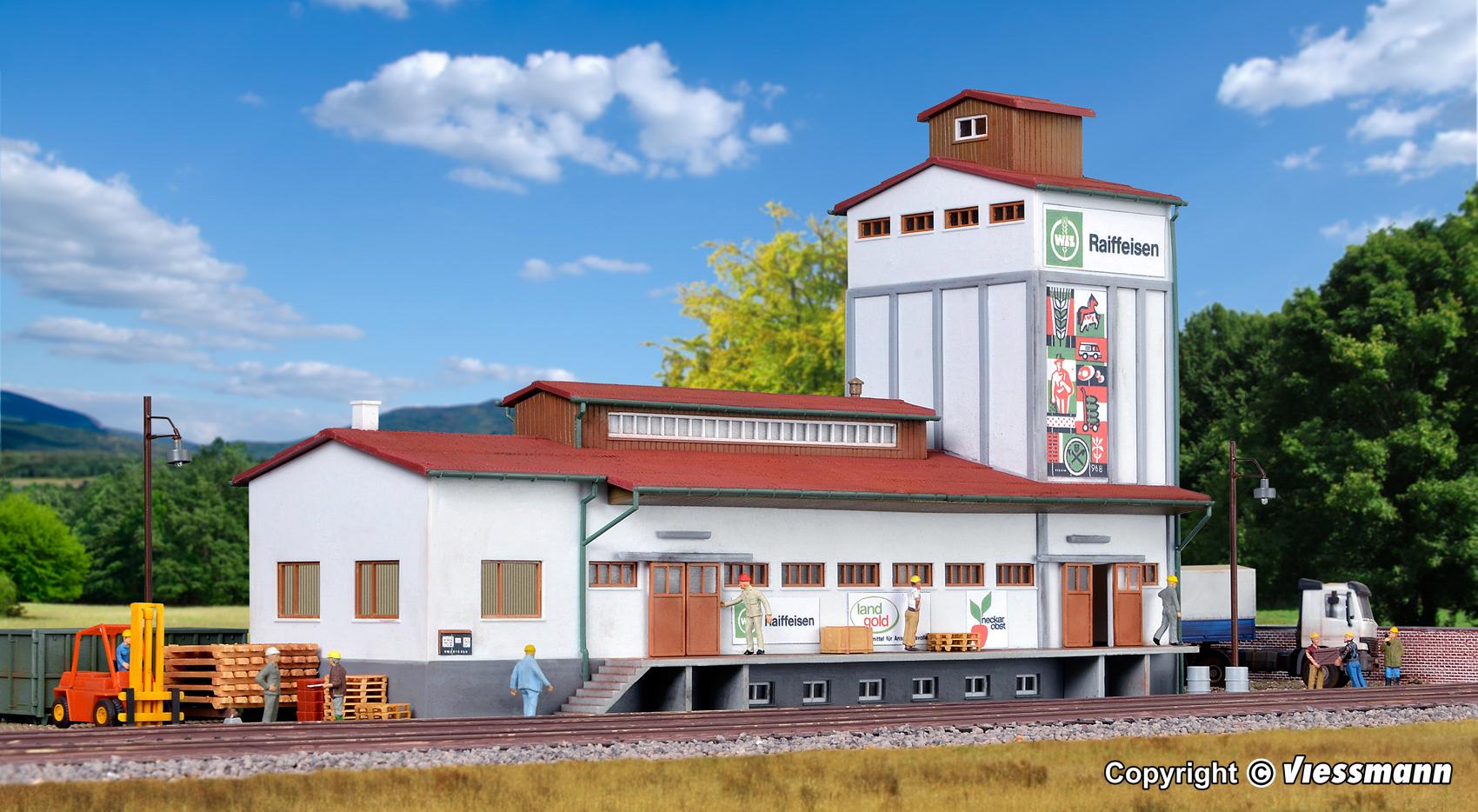 Kibri 39208 Lagerhaus In Herrenberg Menzels Lokschuppen Onlineshop