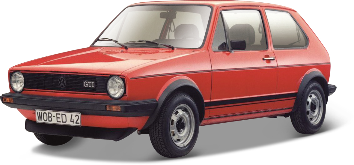 bburago 21089r vw golf 1 gti 1979 rot menzels lokschuppen onlineshop. Black Bedroom Furniture Sets. Home Design Ideas