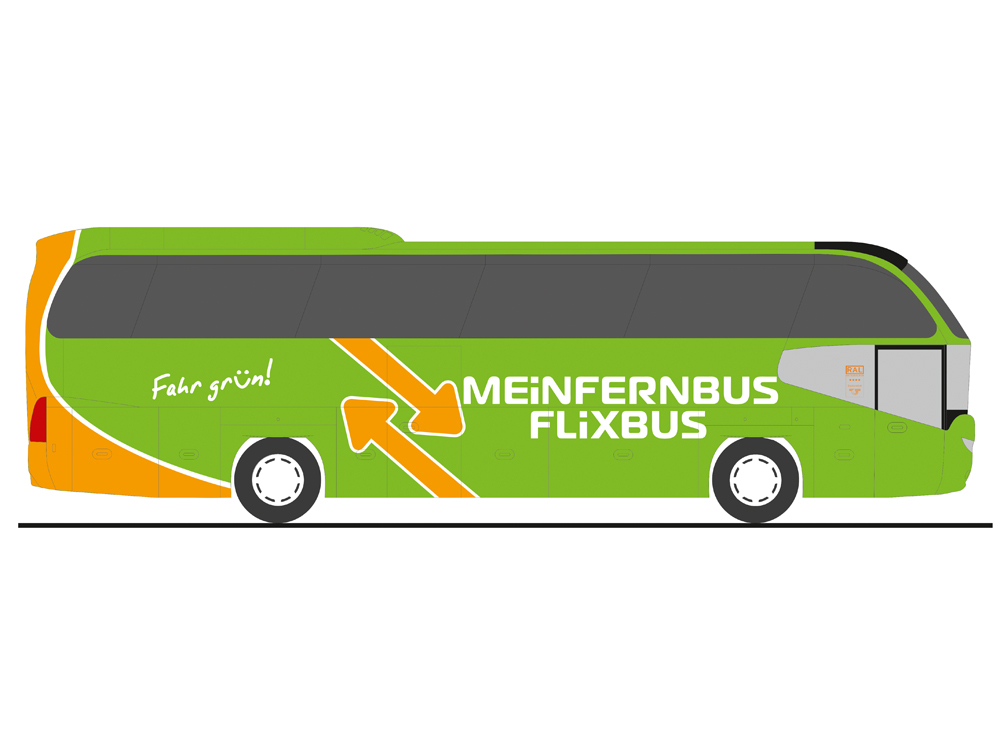 rietze 67131 neoplan cityliner meinfernbus flixbus. Black Bedroom Furniture Sets. Home Design Ideas