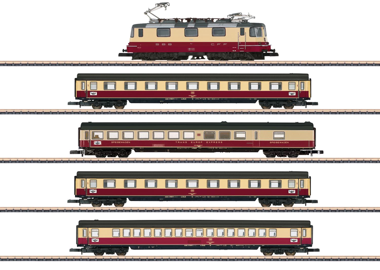 Märklin 81593 Sbb Tee Personenzug 5 Tlg Ep 4 Menzels Lokschuppen Onlineshop