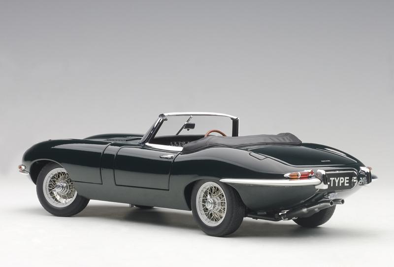 Jaguar E Type For Sale >> AUTOart 73604 Jaguar E-Type I 3.8 Cabrio grün | Menzels Lokschuppen Onlineshop