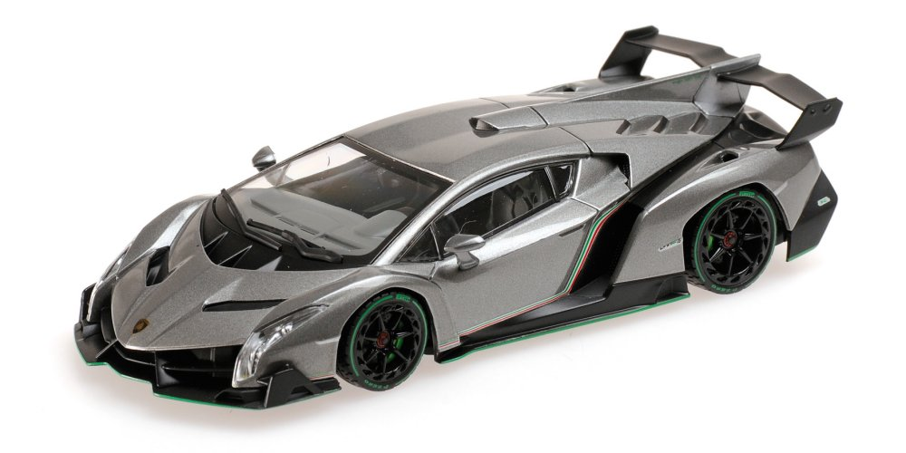 kyosho 5571gg lamborghini veneno grau menzels lokschuppen onlineshop. Black Bedroom Furniture Sets. Home Design Ideas