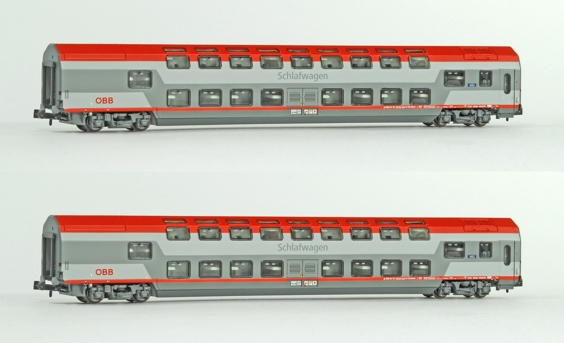 Ls Models 97000 öbb Doppelstockschlafwagen Set Ep6 Menzels