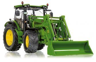 Big trettraktor jimmy loader kindertraktor mit frontlader grün