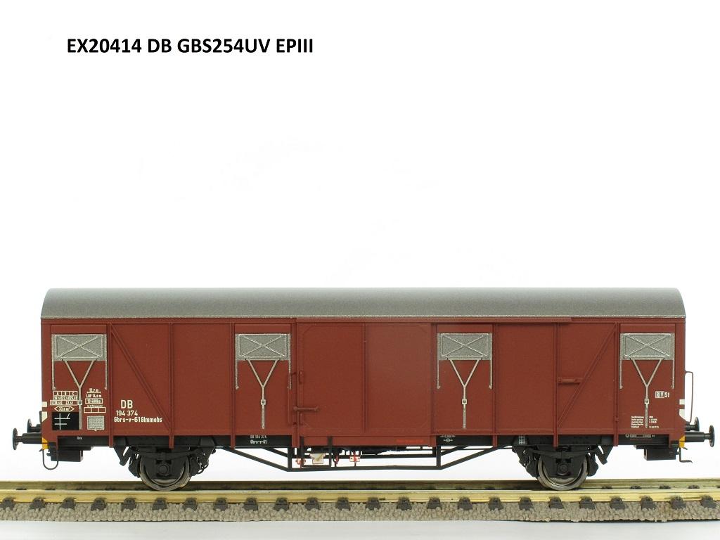 Exact-train 20414 DB Güterwagen Epoche 3