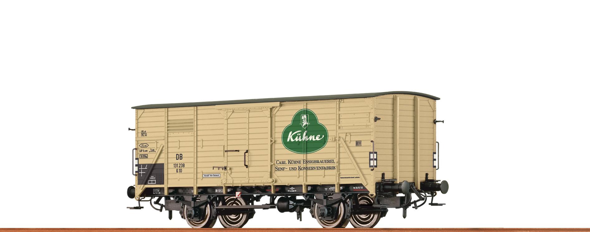 Brawa 49730 Güterwagen G10 DB III Kühne
