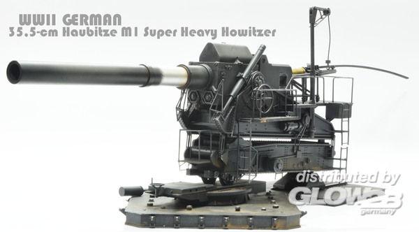 Glow2B 1539994 M1 35,5cm schweres Geschütz Howitzer ...  Glow2B 1539994 ...