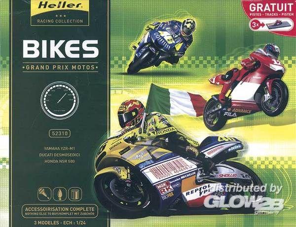Glow2B 52310 MotoGP Grand Prix Motos 3 Modelle   Menzels ...  Glow2B 52310 Mo...