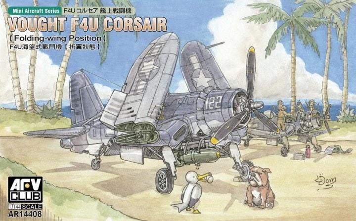 Glow2B AR14408 Vought F4U Corsair   Menzels Lokschuppen ...  Glow2B AR14408 ...