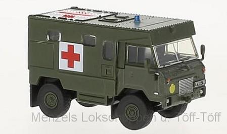 oxford 76lrfca002 land rover 101 fc ambulance   menzels lokschuppen