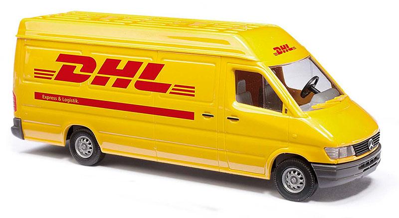 Busch Autos 47851 Mb Sprinter Lr T1n Kasten Dhl Menzels