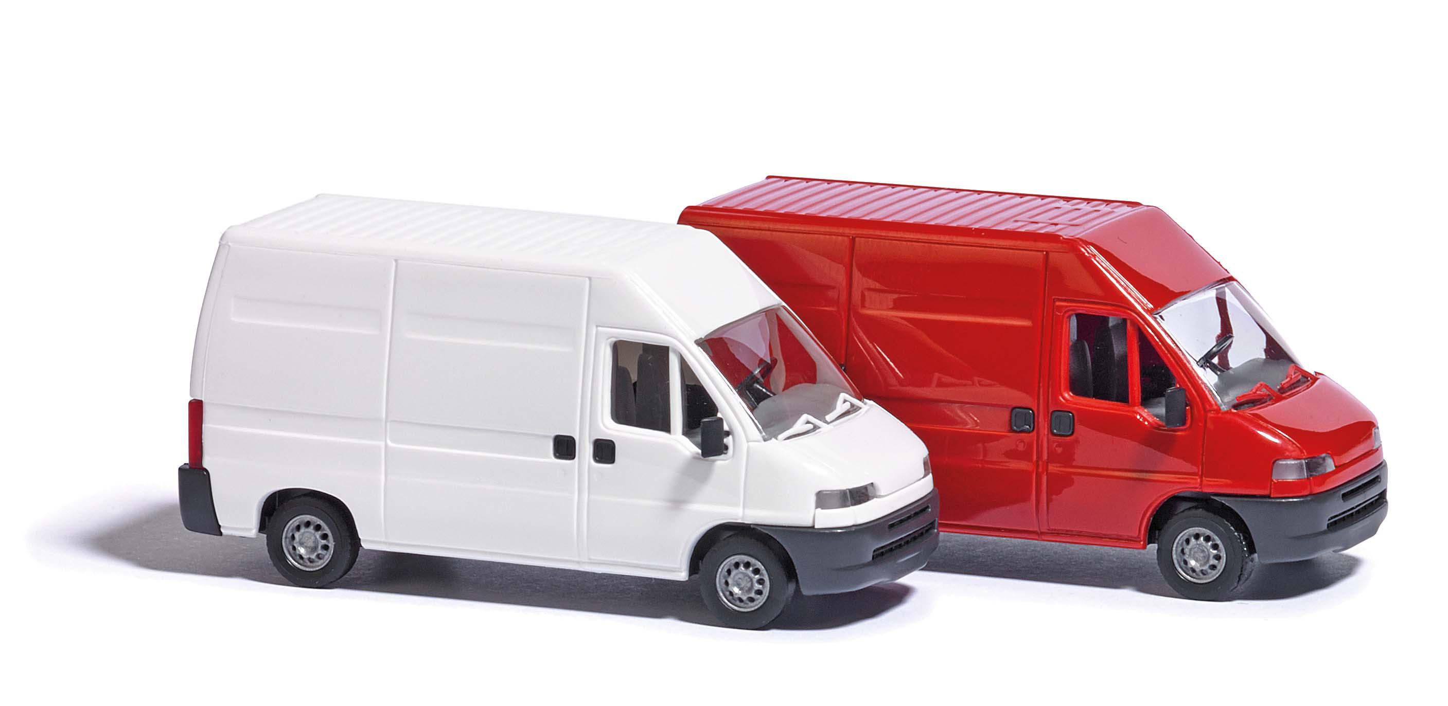 busch autos 89113 fiat ducato rot menzels lokschuppen onlineshop. Black Bedroom Furniture Sets. Home Design Ideas