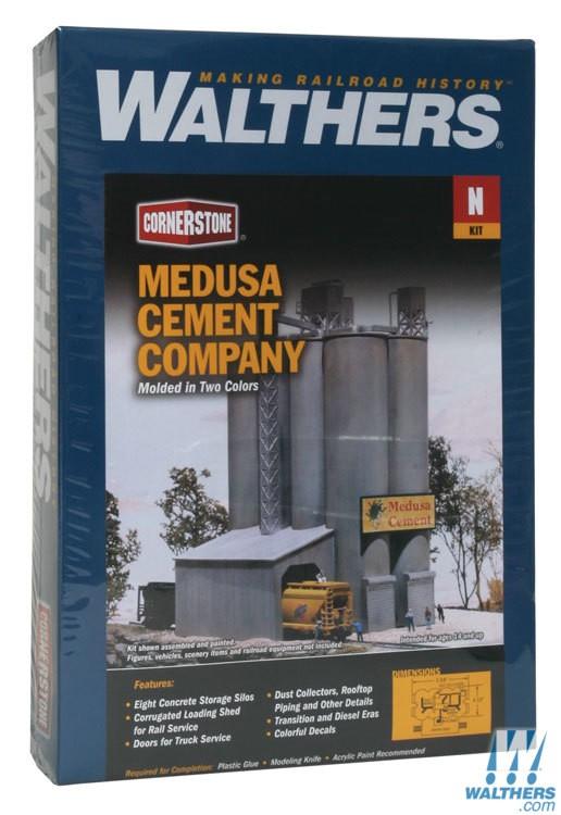 Medusa Cement Company : Walthers medusa cement company menzels lokschuppen