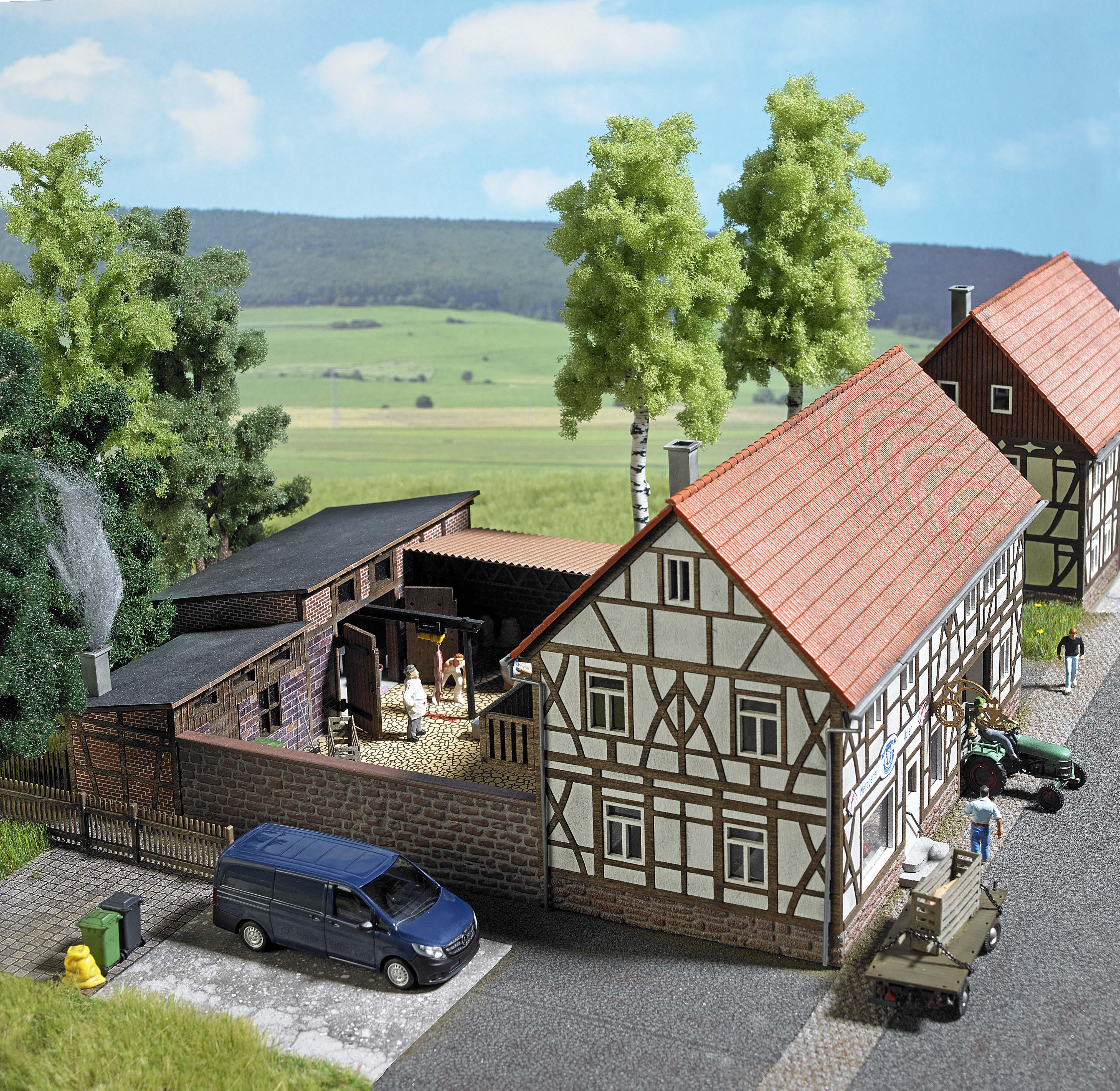 Busch 1530 Land Metzgerei Adler