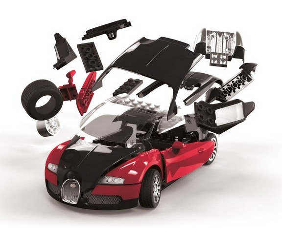 airfix j6020 bugatti veyron quick build menzels. Black Bedroom Furniture Sets. Home Design Ideas